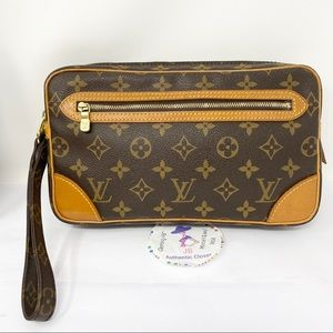 Louis Vuitton Monogram Marly Dragonne Clut…